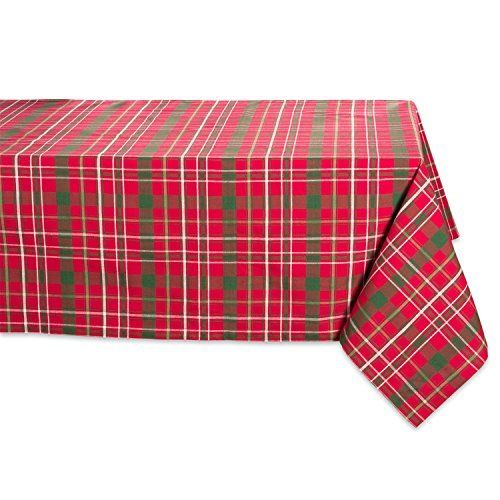 DII's 100% cotton tablecloths come in a variety of colors & sizes, giving you numerous options for your next event or dinner party. These tablecloths are perfect for picnics, parties, holidays, dinners, everyday use and more. DII Tartan Holly Plaid Tablecloths are a great gift for... more details available at https://perfect-gifts.bestselleroutlets.com/gifts-for-holidays/home-kitchen/product-review-for-dii-100-cotton-machine-washable-dinner-and-holiday-tablecloth-60-