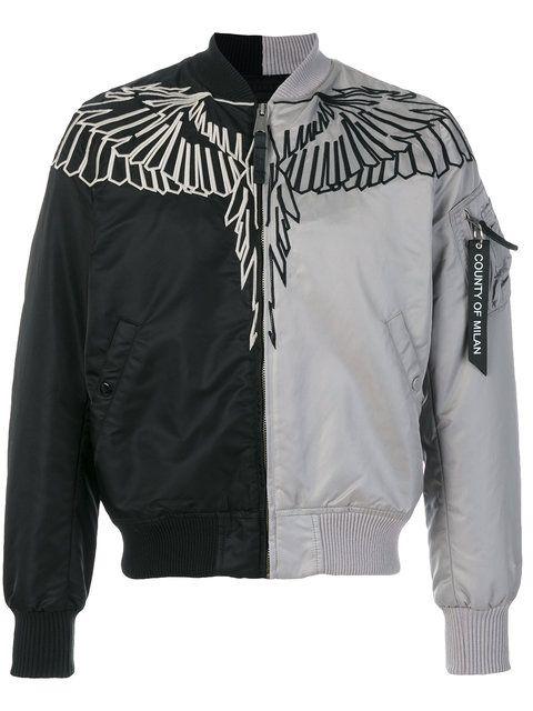 Marcelo Burlon County Of Milan Talca Alpha MA-1 bomber jacket