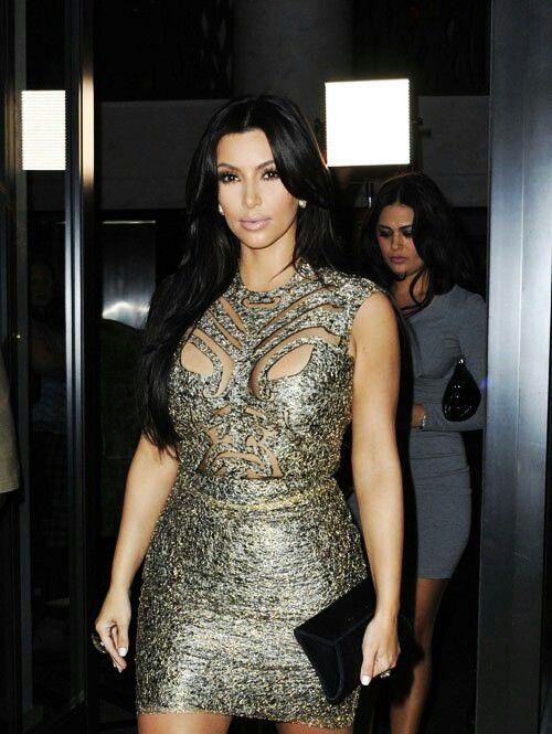 The dress is Freakin Hot!