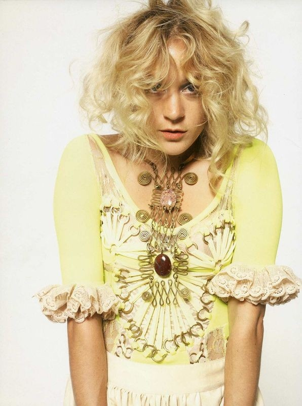 Chloe Sevigny- the ultimate changeling? Her looks are as individual as amber.
