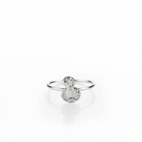 20-00063 - Lil Tiki Ring Designed by New Zealand Designer Boh Runga $79