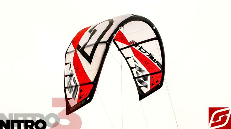 Nitro3 in Red and White now available in HK Warehouse.  http://switchkites.com/nitro3.html  Available in European Warehouse 10th of Jan 2014. #kitesurfing #switchkites #freeride
