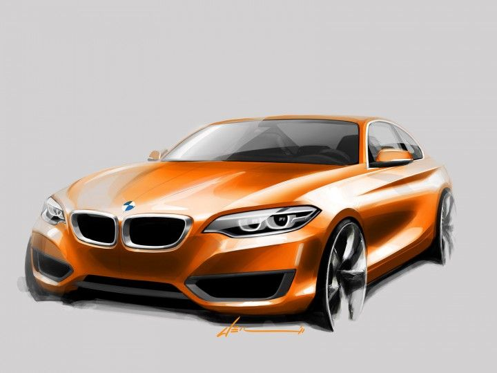 BMW 2 Series Coupe - Design Sketch