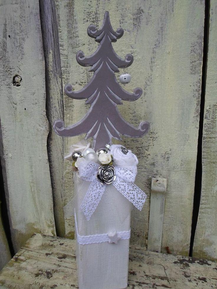 Die besten 25 weihnachtliche holzpfosten ideen auf pinterest weihnachtliche deko aus holz - Holzpfosten dekorativ verziert ...