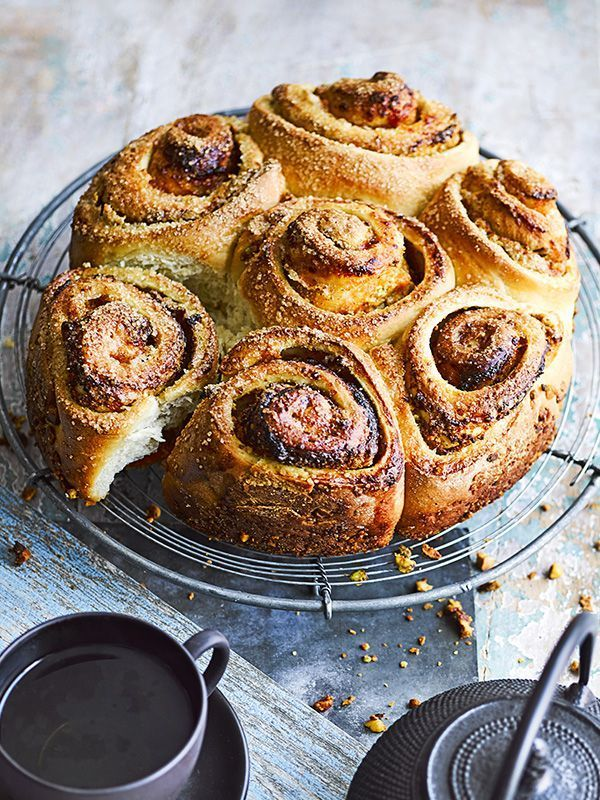 These apricot and pistachio sticky buns are hard to resist. They're perfect for a breakfast treat, or with a cup of tea.