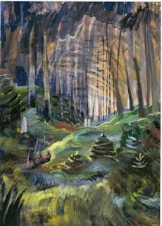 Emily Carr-Deep Woods