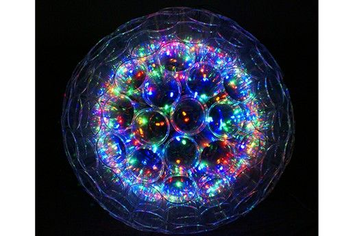 Plastic cups and Christmas lights = Sparkle Ball... I totally need a whole  fleet of these beauties!!! | h [ | Christmas, Christmas lights, Christmas  ... - Plastic Cups And Christmas Lights = Sparkle Ball... I Totally Need A