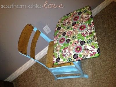 Southern Chic Love: Vorher und Nachher: Funky Vintage Desk …. Muss der D…