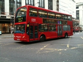MO TRAVELS: Getting around London  Double Decker bus!
