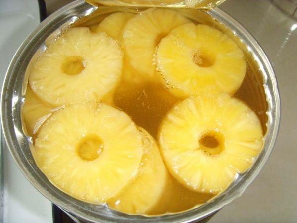 Простенький совет: выливайте ананасовый сок, не раздумывая!