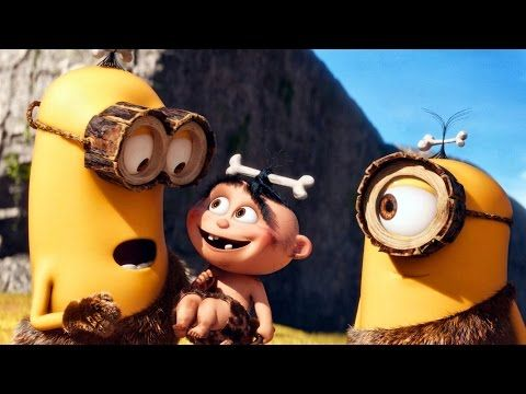 Funny All minion mini movies ALL minions commercial movies Despicable me 2 movie full - YouTube