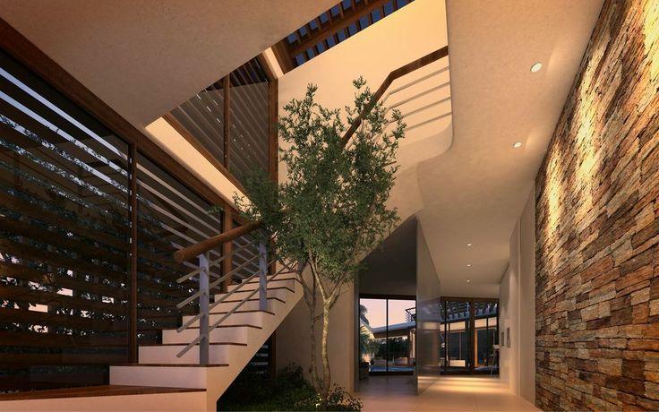 Casas de 4 recamaras hasta de 405m2 amplios jardines con - Jardines de casas de campo ...