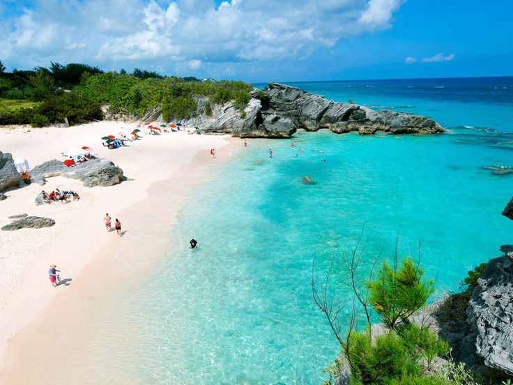 Bermuda's famous pink-sand beaches are considered some of the loveliest seaside retreats in the world, and the shores of Horseshoe Bay are no exception. Wide stretches of the pastel pink sand -- the result of crushed shells, coral and calcium carbonate -- offset by clear blue waves lapping at the shore, create an enticing lure for the scores of visiting beachgoers who descend each year upon the 21-mile-long island. Horseshoe Bay Beach's facilities, lifeguards and equipment rental shops have…