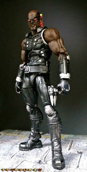 Blade Version 2 (Marvel Legends) Custom Action Figure