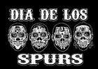 For Sale - San Antonio Spurs Day of THE DEAD DIA DE LOS SPURS T SHIRT - http://sprtz.us/SpursEBay