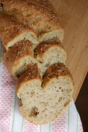 Gluten-free vegan dairy-free egg-free French Bread Recipe | Book of Yum