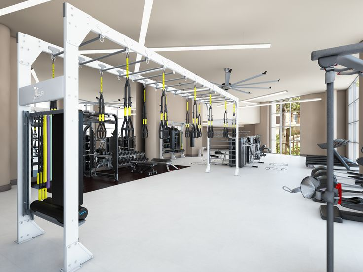 653 Best Fitness Images On Pinterest Gym Design Gym