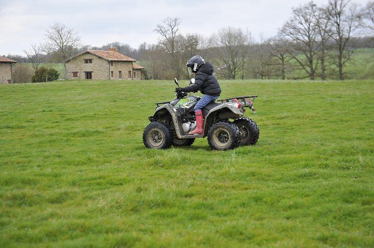 Domaine des Etangs - #Massignac #quad #activities #children