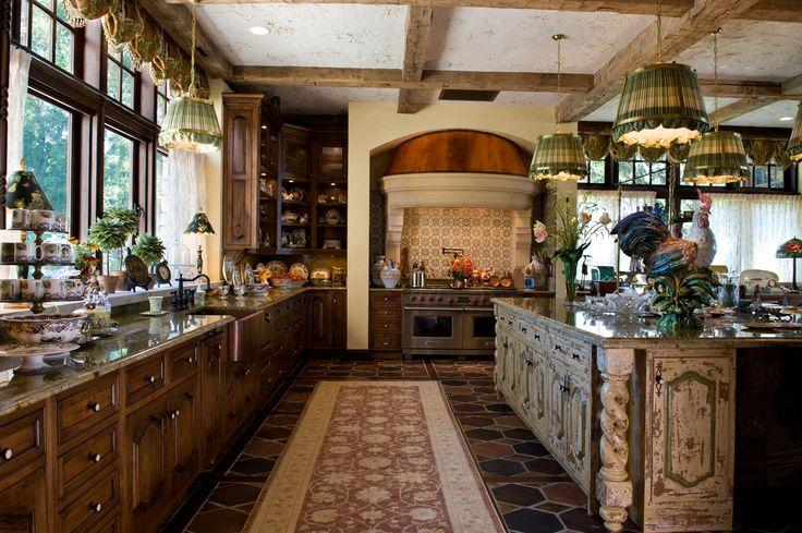 French Chateau - Kitchen
