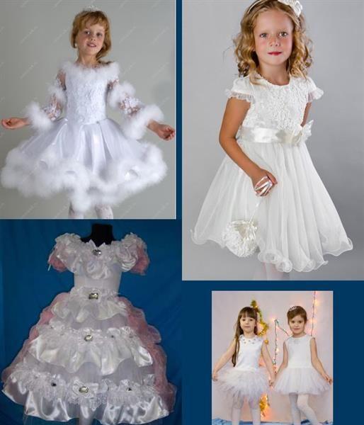Новогоднее платье снежинки для девочки 8 лет