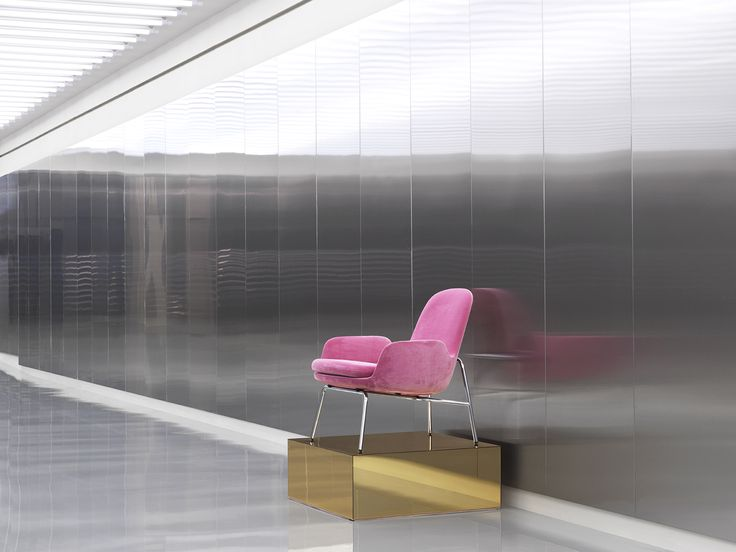 Era lounge chair in bright pink at Normann Copenhagen