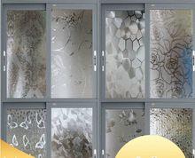 Evite pegamento estático papel ventana del baño de vidrio esmerilado parche poner protector solar protector solar película ventana del baño(China (Mainland))