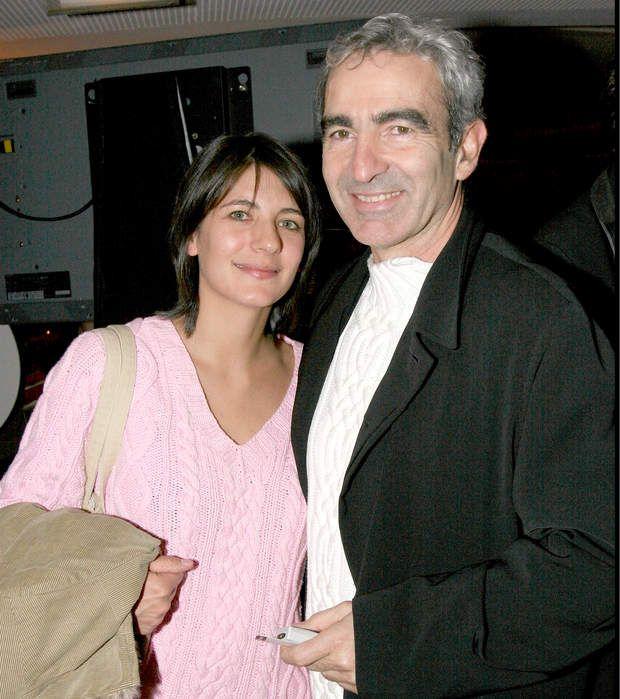 Estelle Denis et Raymond Domenech...