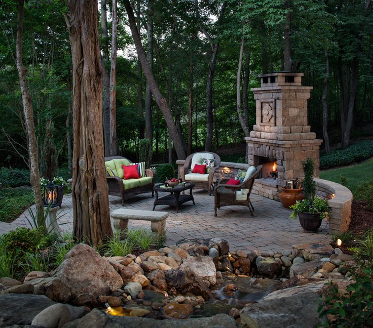 9 Front Garden Ideas Anybody Can Try: 25+ Best Ideas About Outdoor Fireplace Patio On Pinterest
