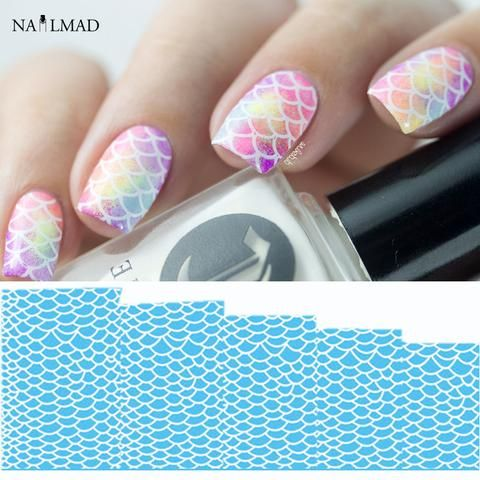 Item Type: Sticker & Decal Quantity: 1 sheet Material: PET & Paper Size: 5*5cm Style: fish scale Model Number: 772Item Type: Sticker & Decal Quantity: 1 sheet Material: PET & Paper Size: 5*5cm Style:
