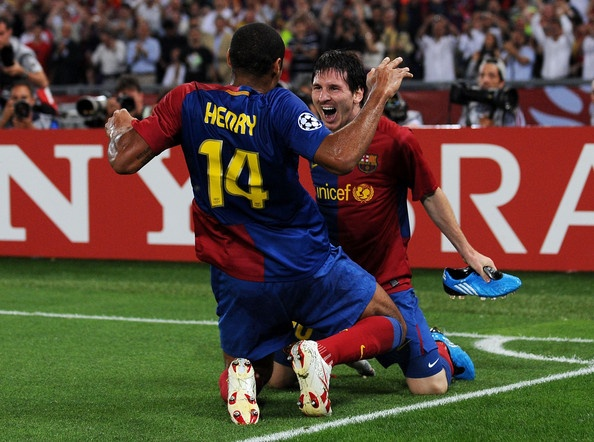 Thierry Henry, Lionel Messi