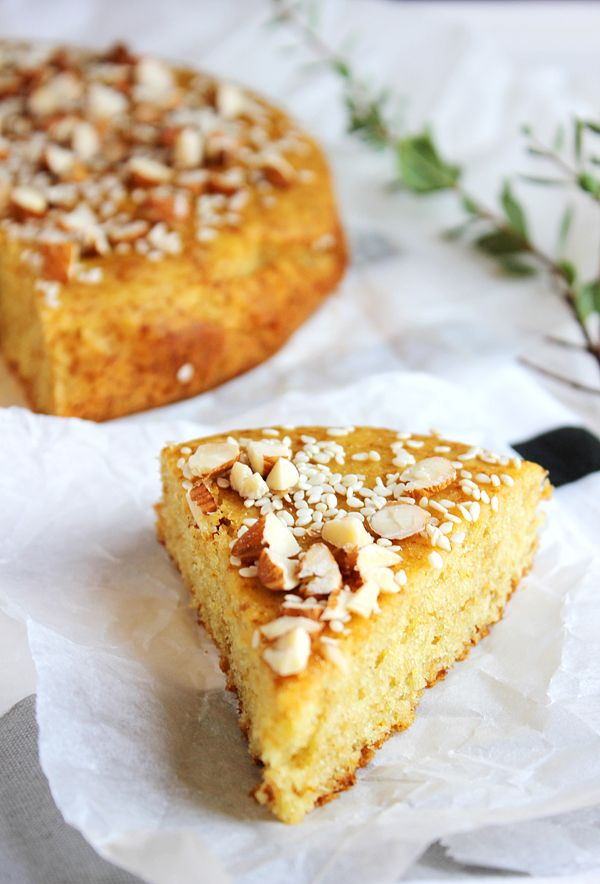 Eggless Arabian Cake: cardamom along with saffron give this cake an amazing taste and fill your house with great aroma.