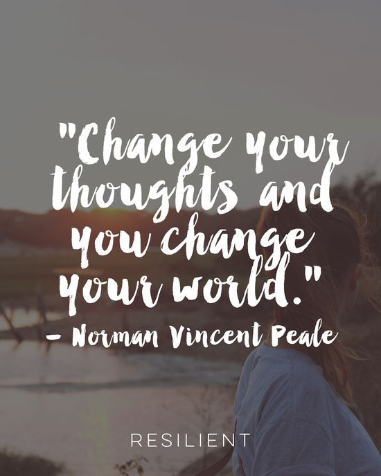 Change Your Thoughts Art Print
