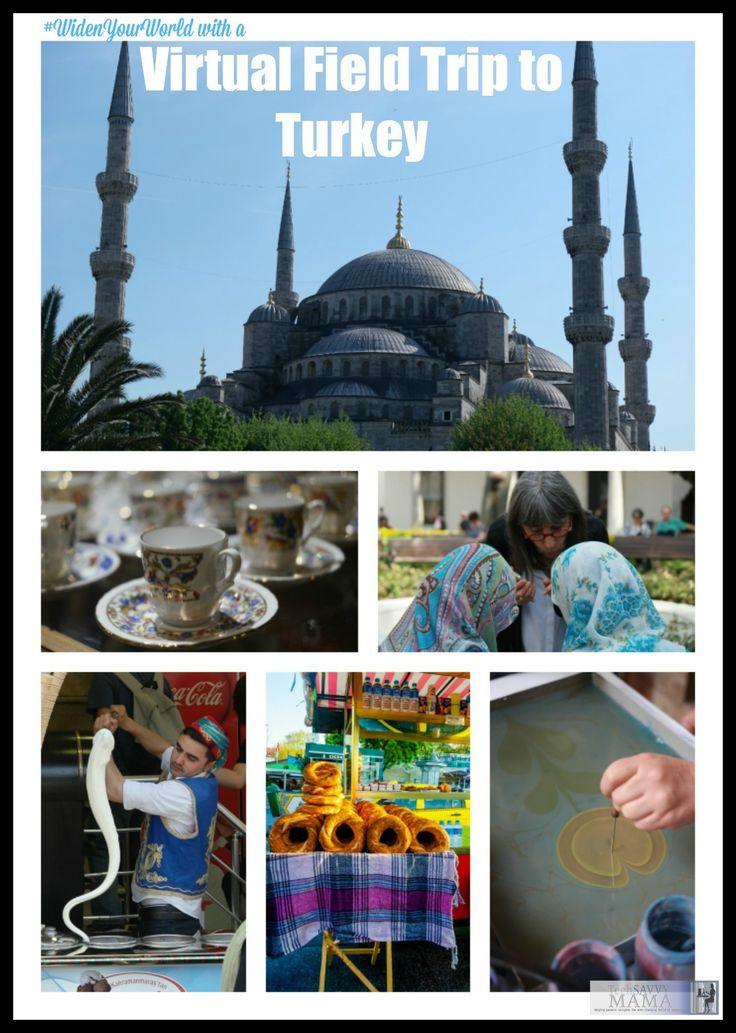 Virtual Field Trip to Turkey to #WidenYourWorld