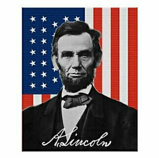 """Today, February 12th, is President Lincoln's birthday. It is still celebrated as an official legal federal holiday in a few states; but, has been combined with George Washington's birthday and the two are now celebrated together as a legal US nationwide holiday named """"Presidents Day"""" which will be February 20, 2017."""
