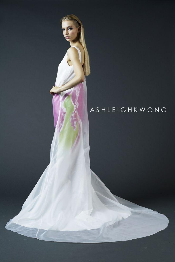 ASHLEIGH KWONG SS16 Arctic Expressionism Lookbook www.ashleighkwong.com