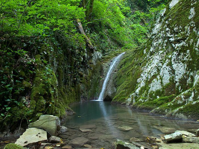 Водопады на р. Псебе