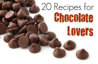 Healthy recipes for chocolate lovers.