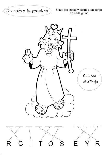 El Rincón De Las Melli Descubre La Palabra Cristo Rey Historias De La Biblia Para Niños Enseñanzas De Jesus Biblia Para Niños