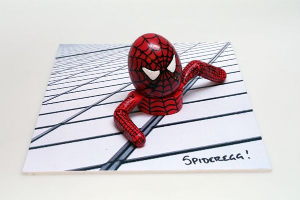 Spideregg, spideregg, does whatever a spideregg does...