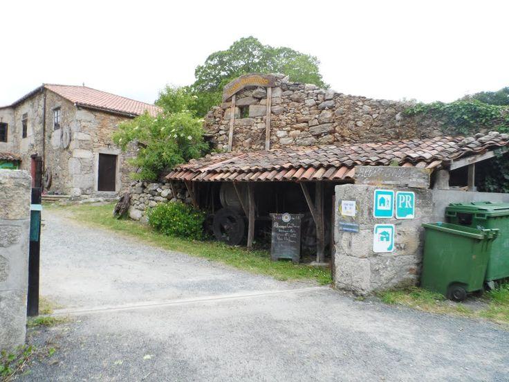 Pontecampaña, Lugo, Camino de Santiago