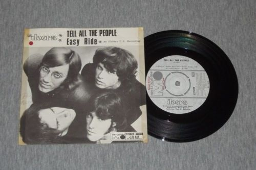 The Doors Tell All the People / Easy Ride - Swedish metronome single #thedoors #vinyl