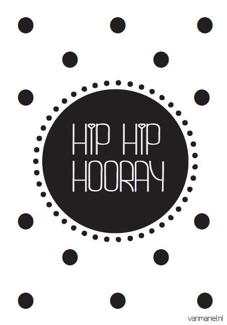 HIP HIP HOORAY + DOTS
