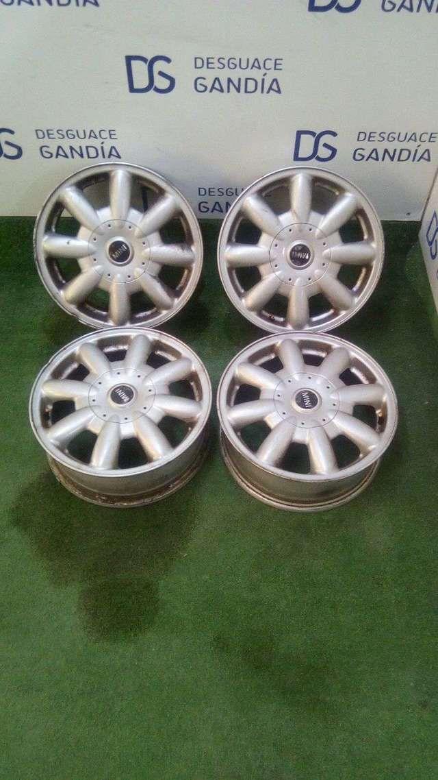 . Llantas de Aluminio, Mini One, R15