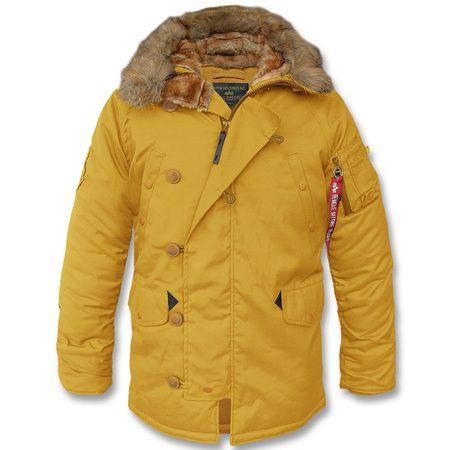 Winterparka Explorer N3B mustard (Abverkauf)