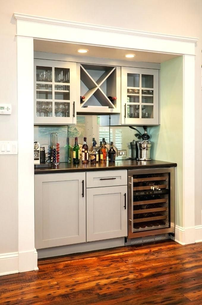 Wet Bar Ideas Family Room Contemporary With Glass Front Mini Mini