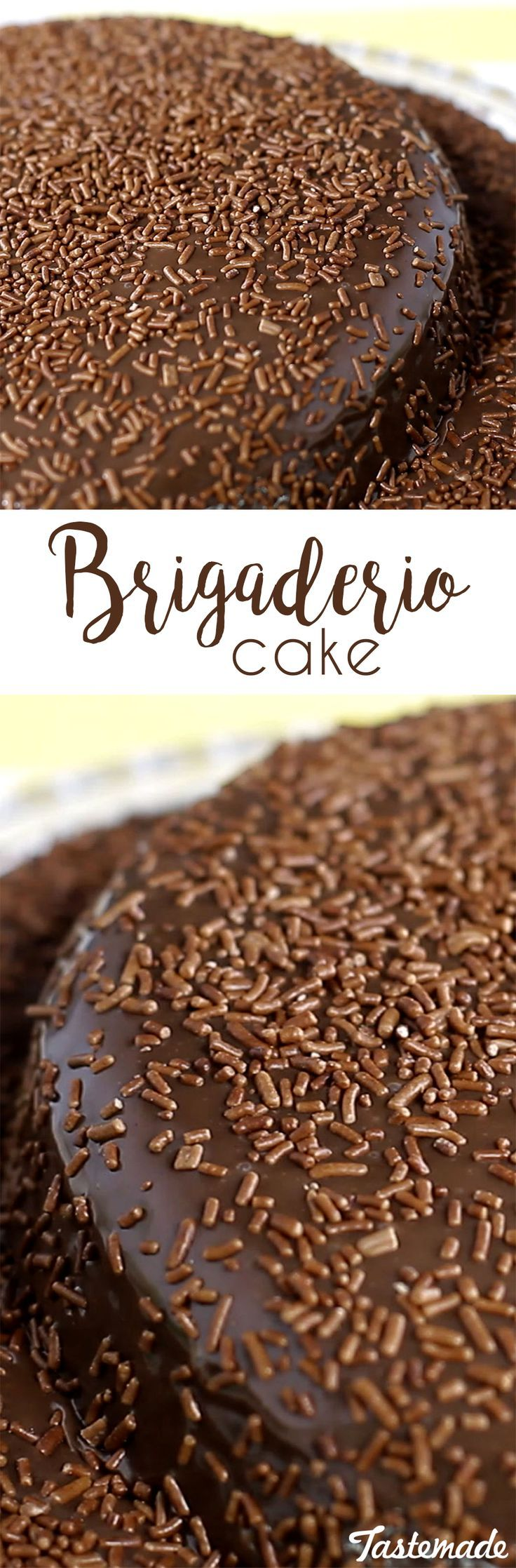 A deliciously rich & sweet cake inspired by Brazil's most beloved dessert: the brigadeiro! Chocolate lovers rejoice!