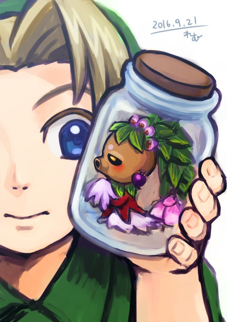 That one time when you have to put the Deku Princess in a bottle.