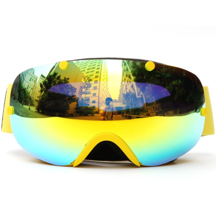 Winter Snowboard Glasses Skiing Goggles Snowboarding Glasses Eyewear Breathable Anti-fog Windproof Eye Protect Snow Goggles #Affiliate