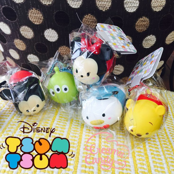 disney tsum tsum mickey minnie mouse pooh bear donald duck toy story squishy rare
