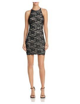 lace-bodycon-shine-dress by aqua #dress #fashion #trends #onlineshopping #shoptagr